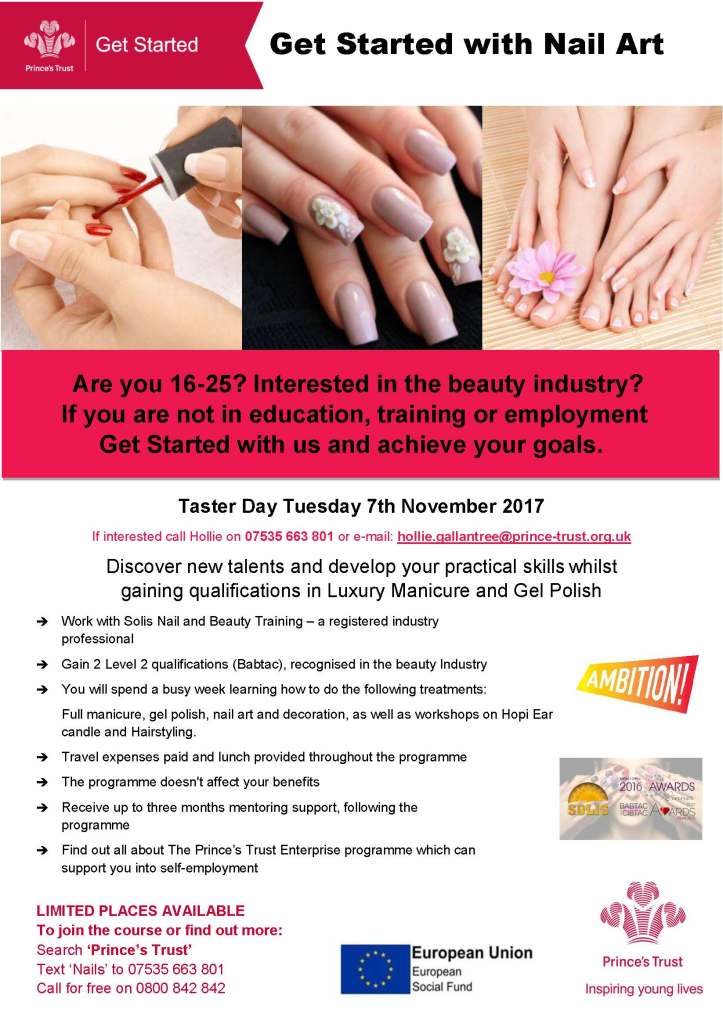 Aged 16 25 Interested In Working In The Beauty Industry Try The